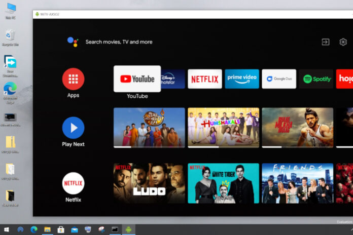 How to Control Android TV From Windows 10 PC?
