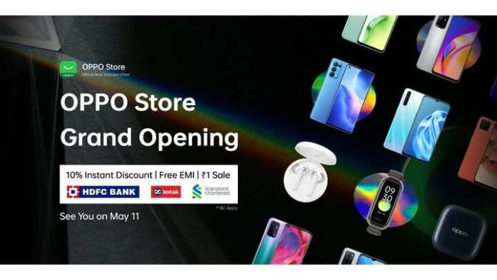 oppo-launched-online-store-in-india